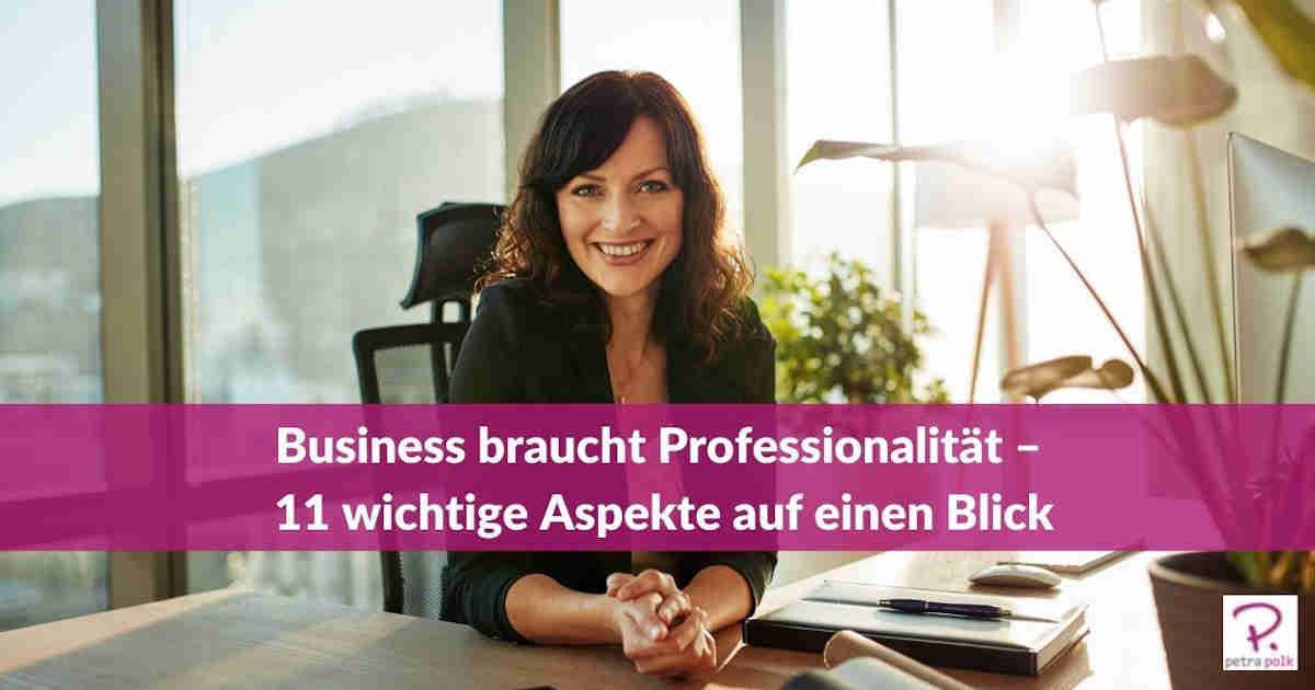 Business-braucht-Professionalität