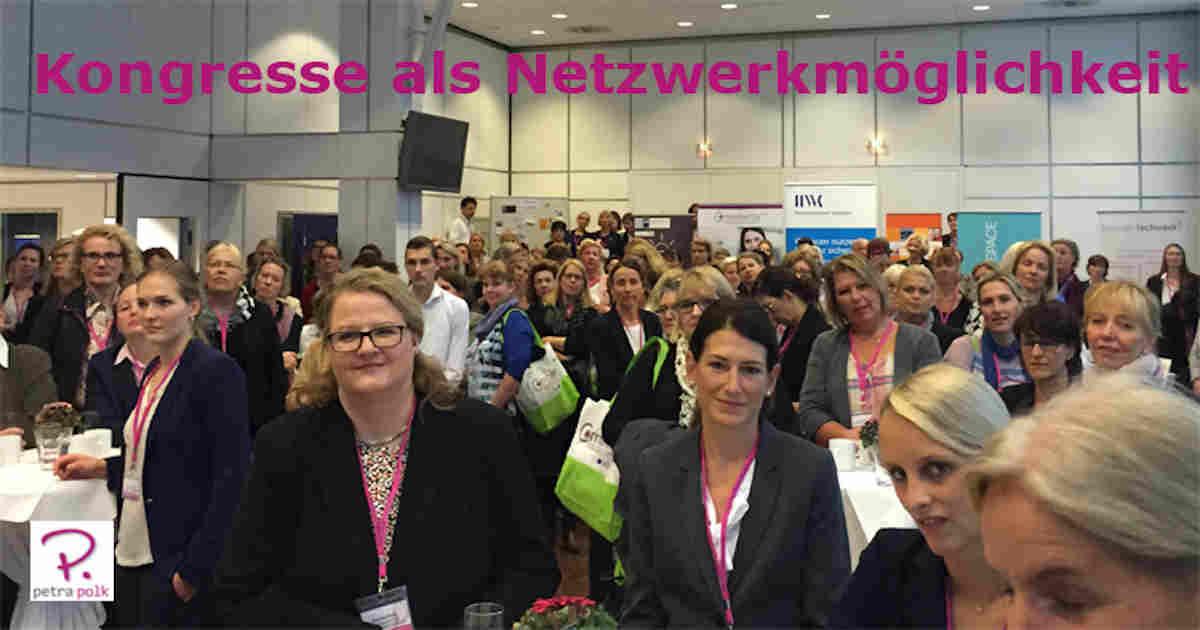 Netzwerken auf Messen und Kongressen