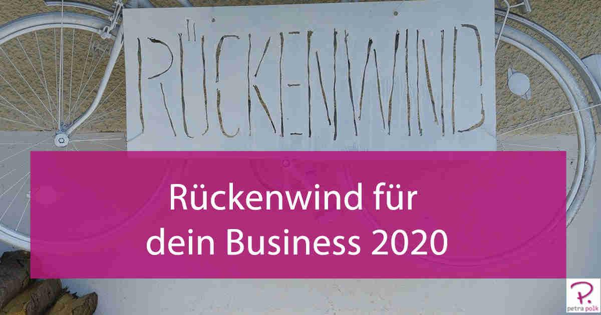 Rückenwind für dein Business 2020