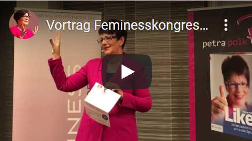 YouTube: Petra Polk beim Feminesskongress
