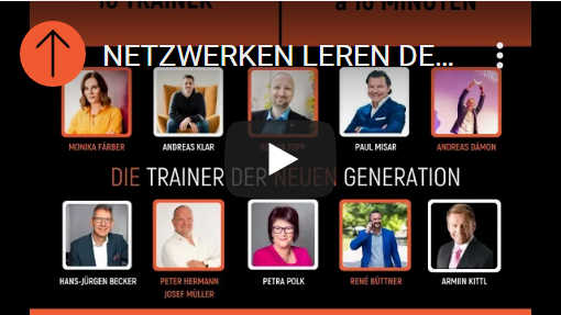 YouTube: Petra Polk beim Netzwerken lernen