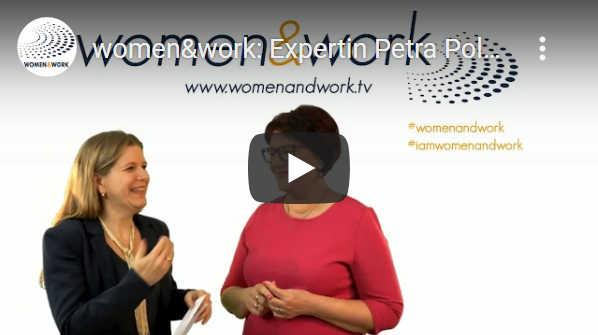 YouTube: Petra Polk bei Women&Work